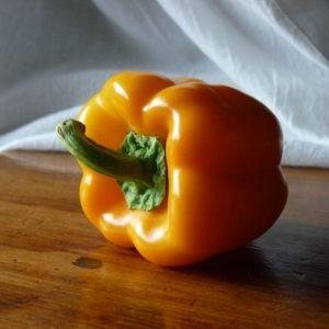 bright star orange bell pepper